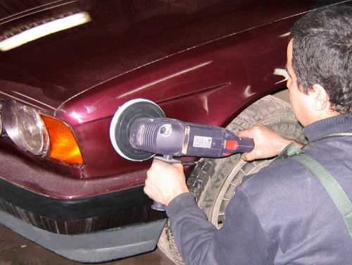 Как отполировать авто самому